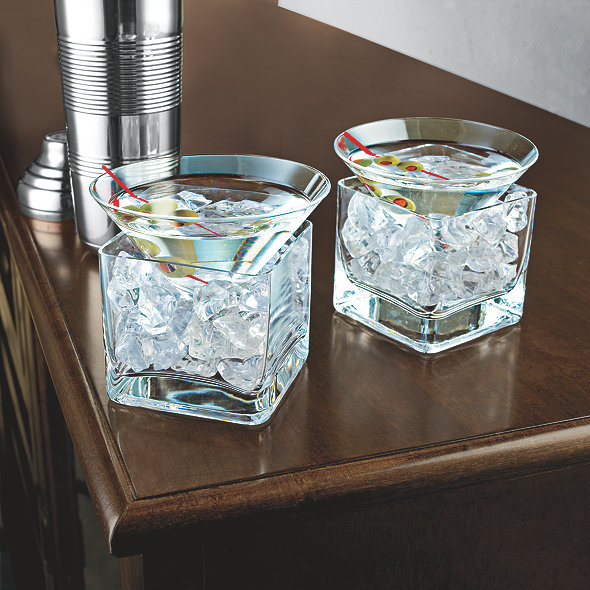 Midtown Martini Chillers (Set of 2)