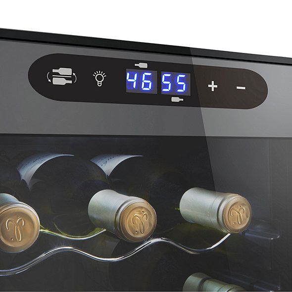 Wine Enthusiast 18-Bottle Dual Zone MAX Wine Cooler