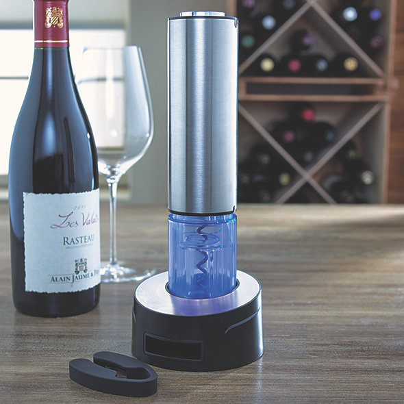 Electric Blue Automatic Wine Opener
