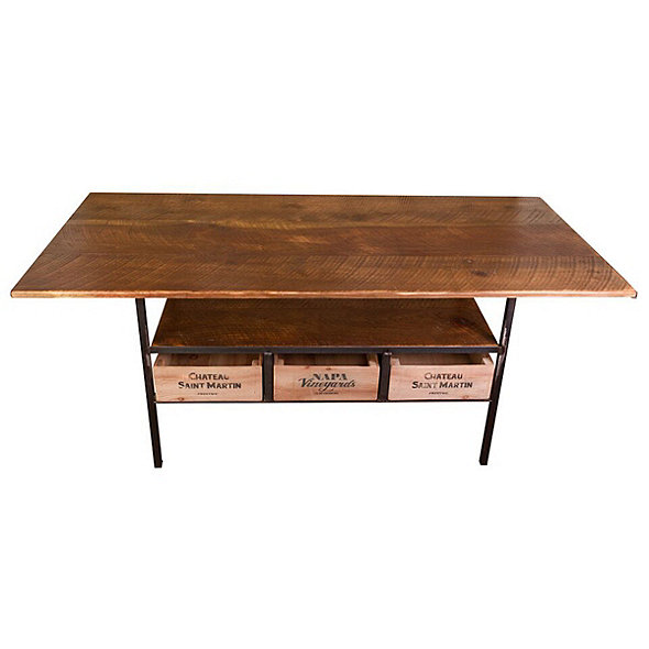 Vino Vintage Farm Style Dining Table