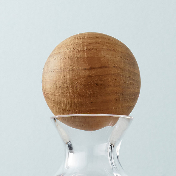 Wood Decanter Stopper Wine Enthusiast