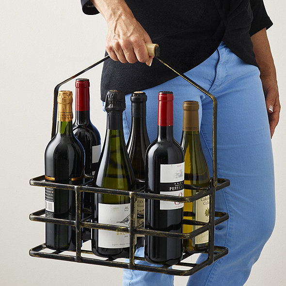 6 Bottle Wine Caddy
