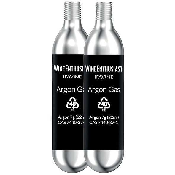 Professional Argon Wine Preserver Additional Capsules (Set of 2)