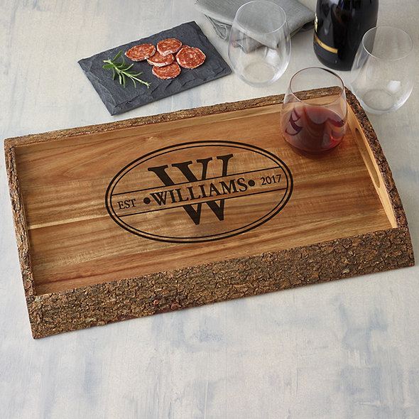 Woodland Live Edge Tray