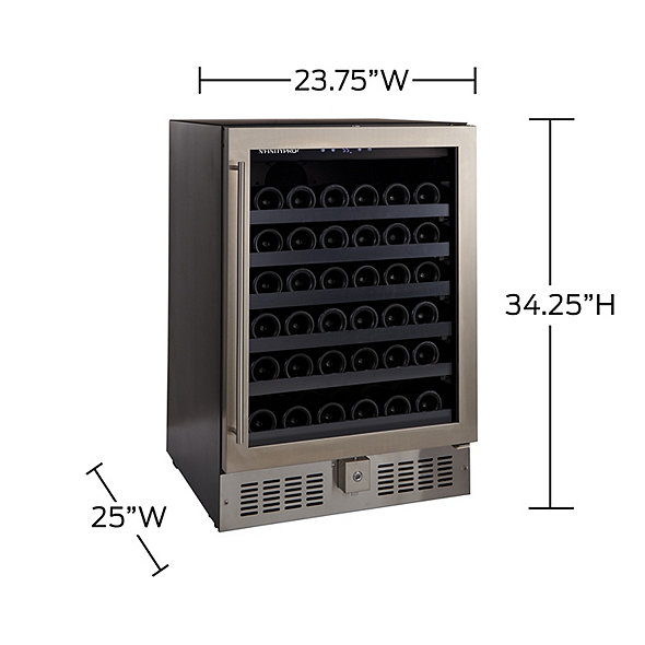 N'FINITY PRO2 S Single Zone Wine Cellar