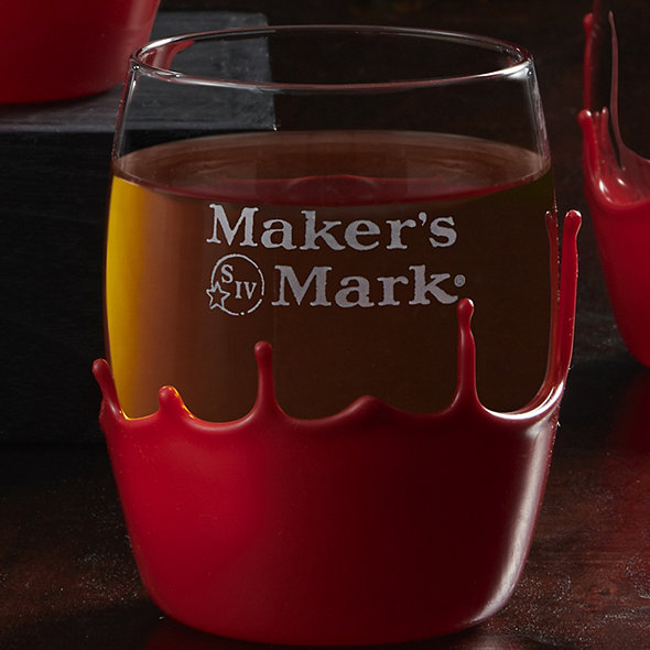 Maker's Mark Hand-Dipped Glasses (Set of 4)