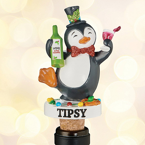 Tipsy Wine Bottle Stopper