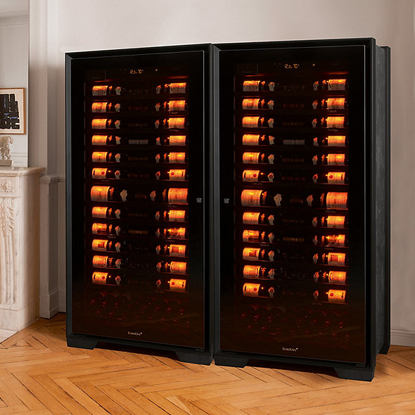 EuroCave Royale Double Wine Cellar