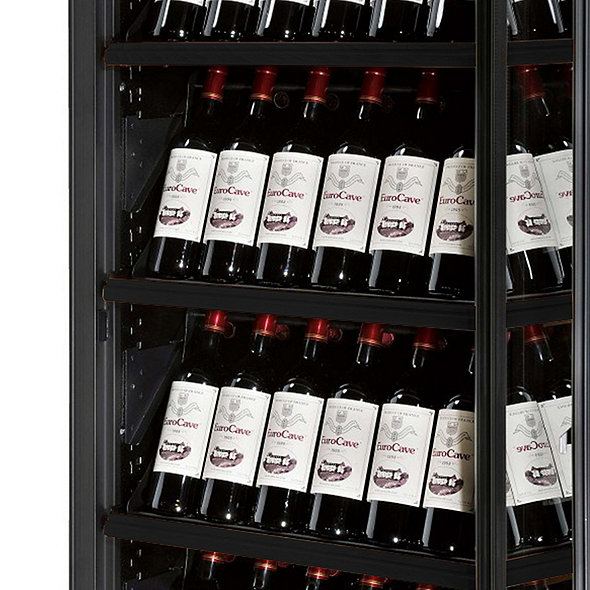 EuroCave Revelation Double L Wine Cellar With Display Presentation Shelf
