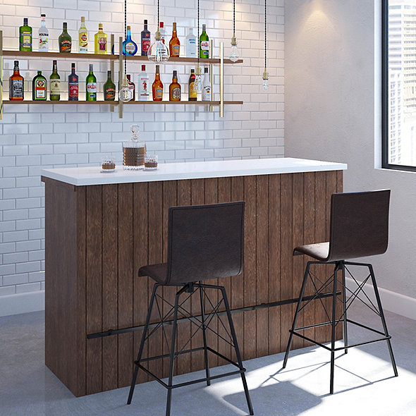 Altus Wine Bar with Wine Refrigerator
