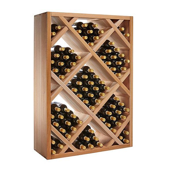 N Finity Stackable 4 Foot Wine Rack Diamond Bin Enthusiast