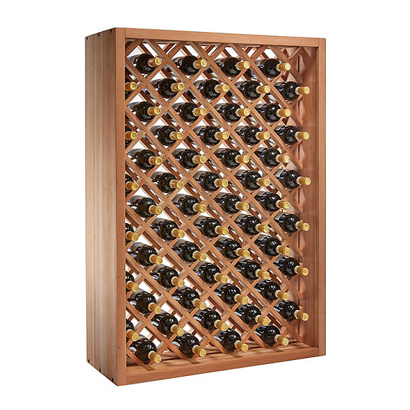 N'FINITY Stackable 4 Foot Wine Rack - Individual Diamond Bin