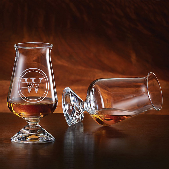 Personalized Tuath Irish Whiskey Glass