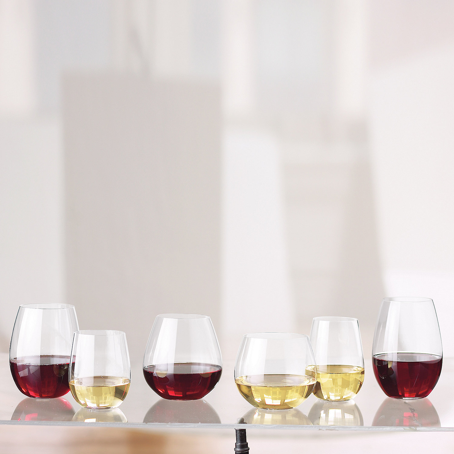 riedel o stemless wine glass complete collection set of 12