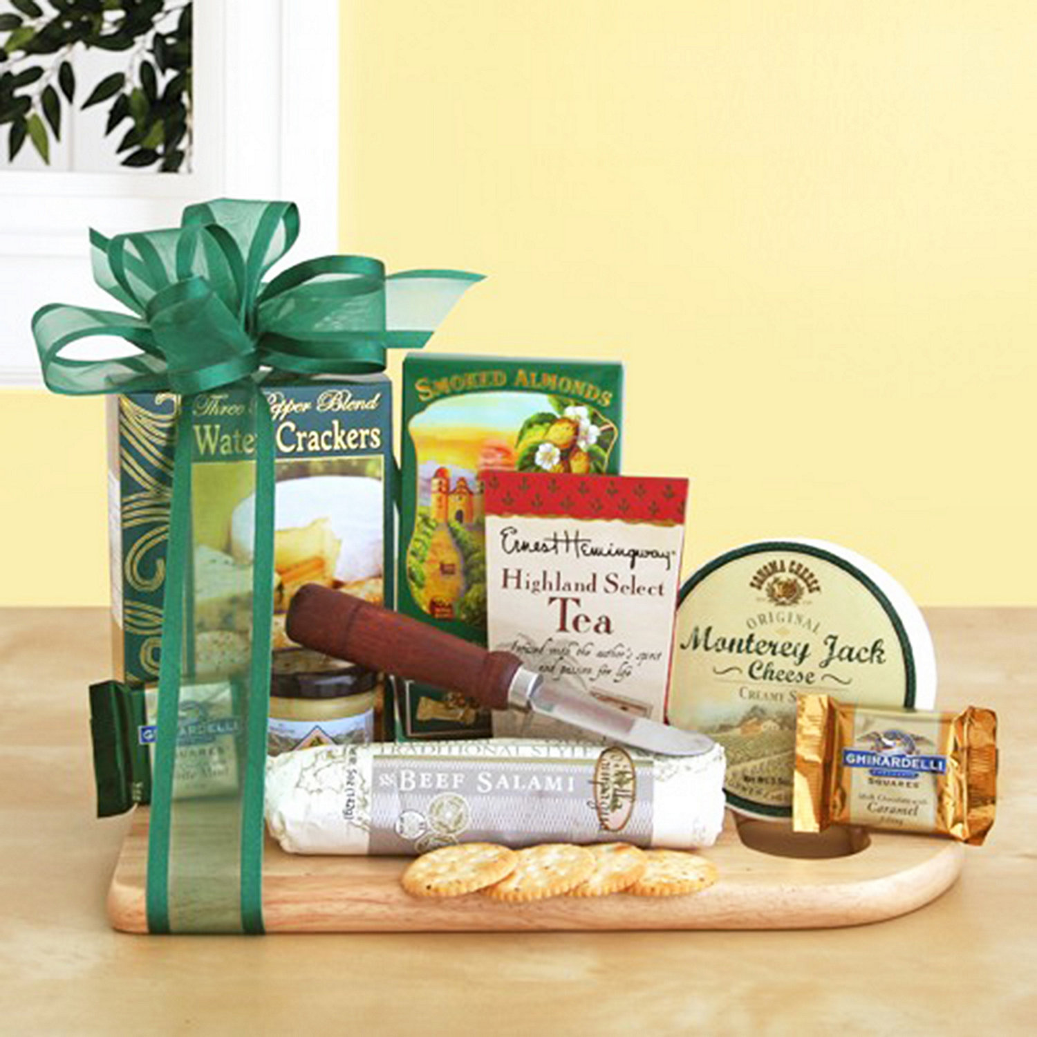cheese and cracker gift baskets free shipping