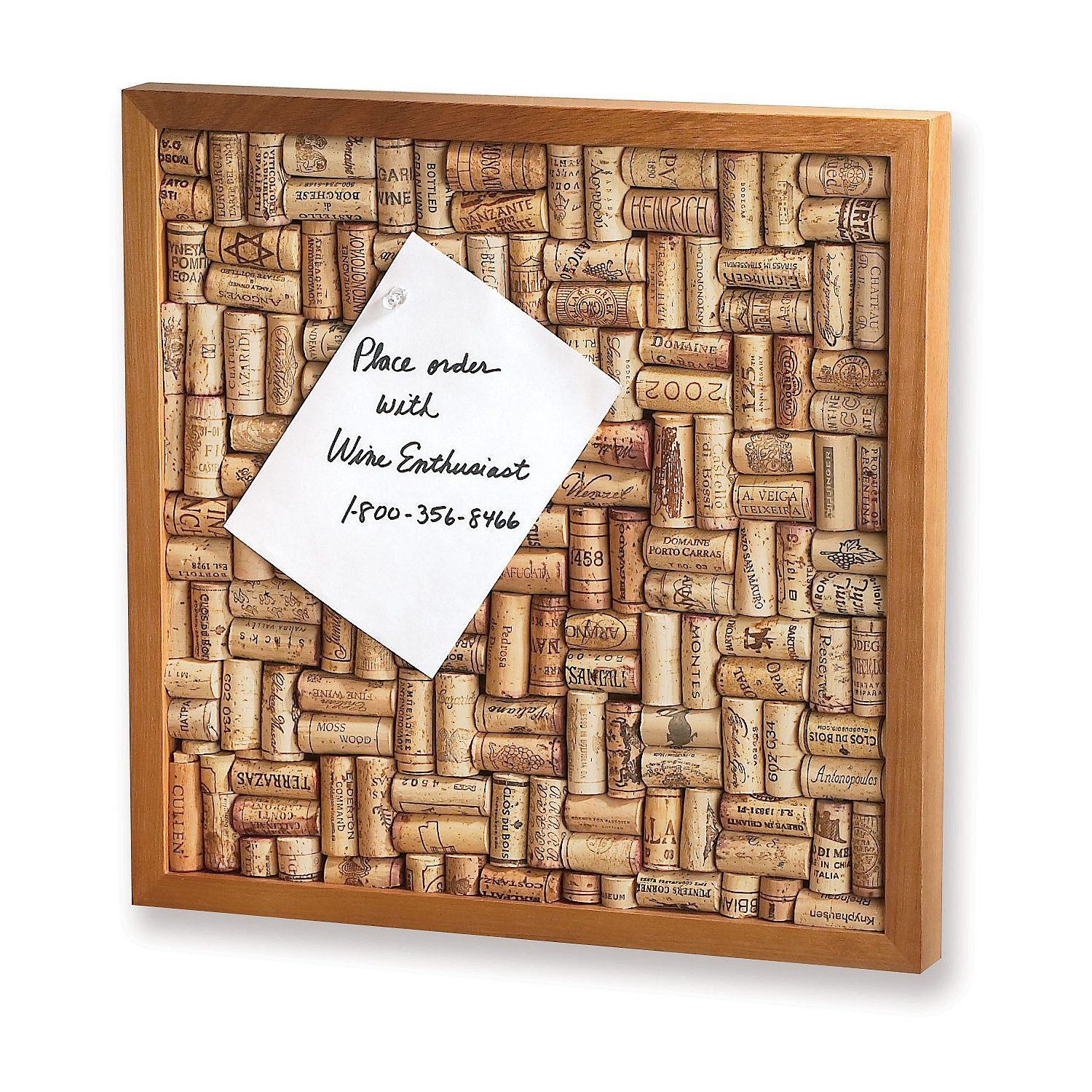 Wine Cork Board Kit Wine Enthusiast