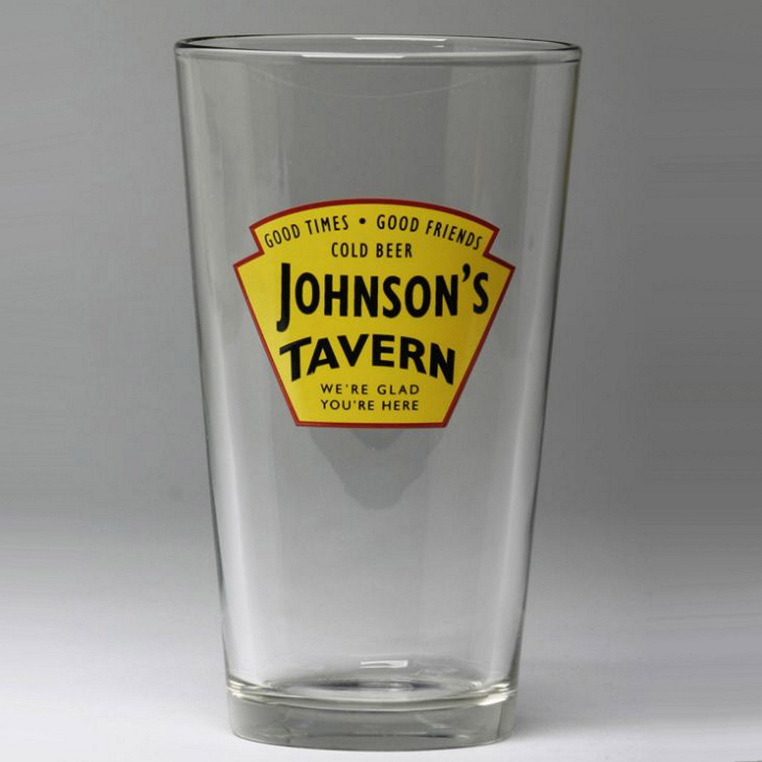 personalized yellow tavern beer glasses set of 4 wine enthusiast