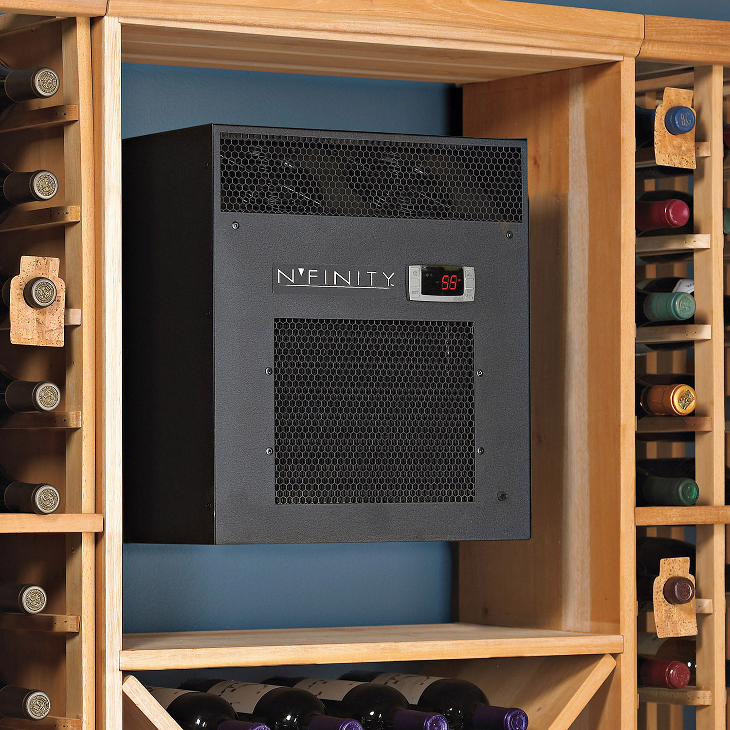 Nfinity 3000 Wine Cellar Cooling Unit Max Room Size 650 Cu Ft