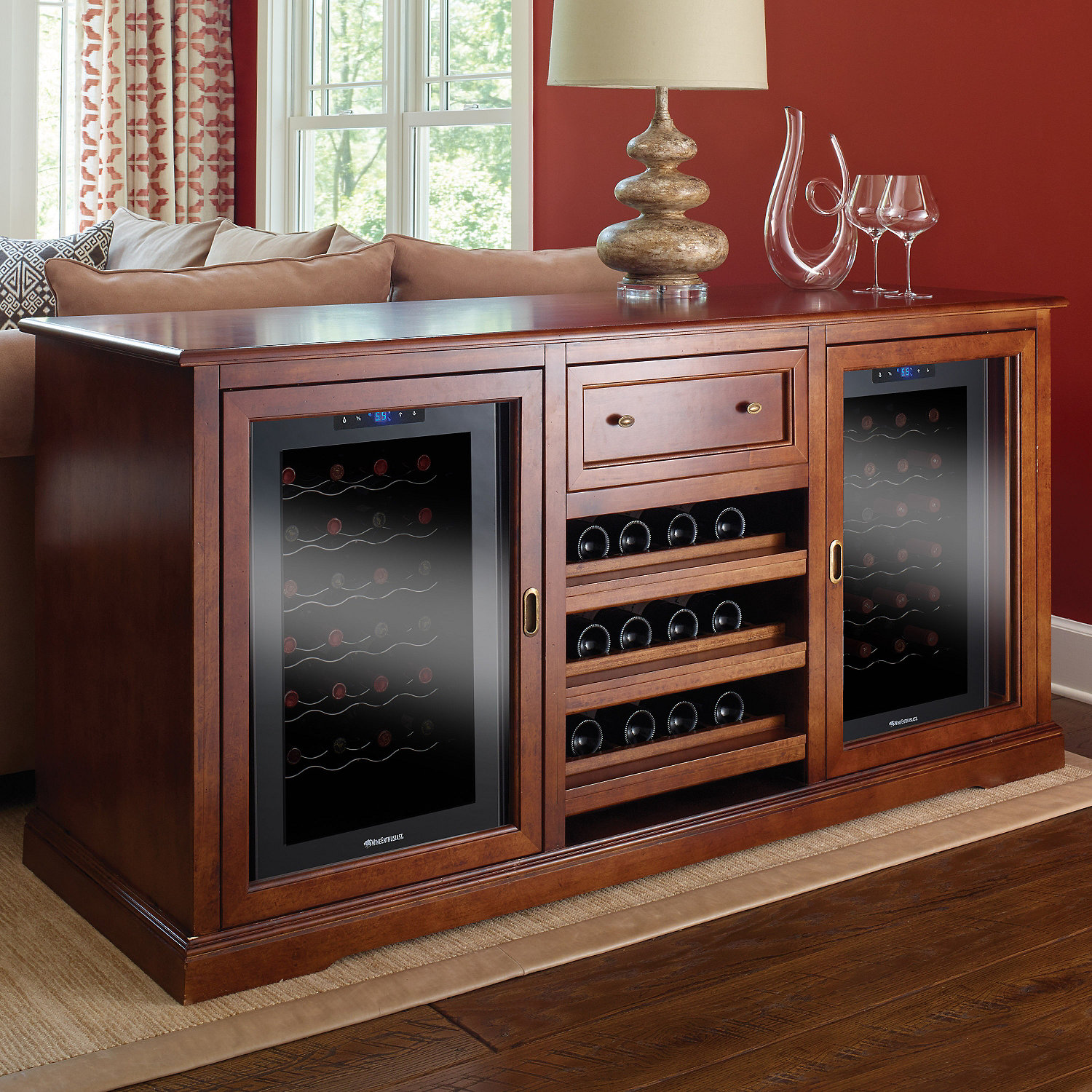 wine refrigeration the pin dunavox s refrigerated cabinet day of elite