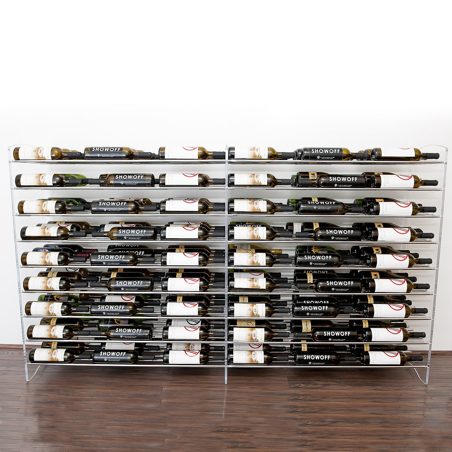 Vintageview Evolution Series 4 Foot Wine Rack Extension 81 Bottle