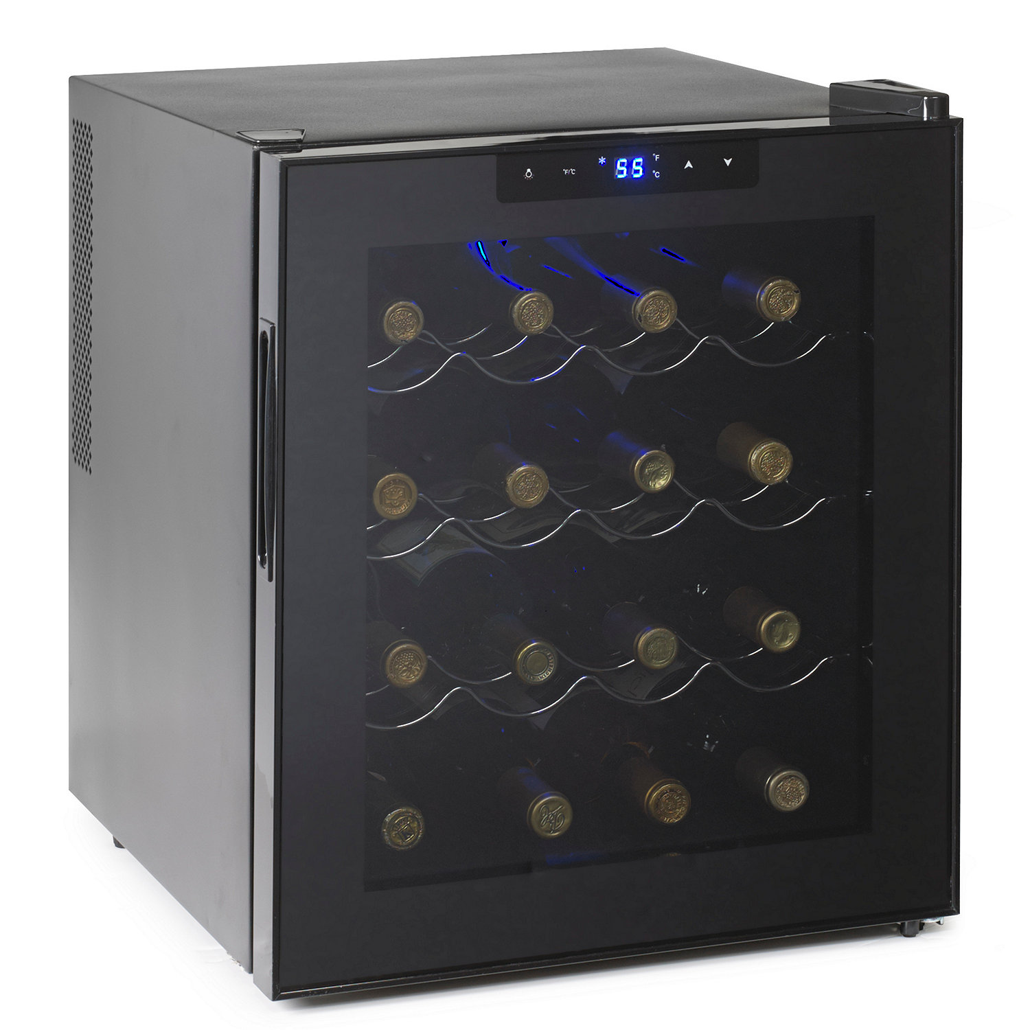 Wine Enthusiast Silent 16 Bottle Touchscreen Refrigerator
