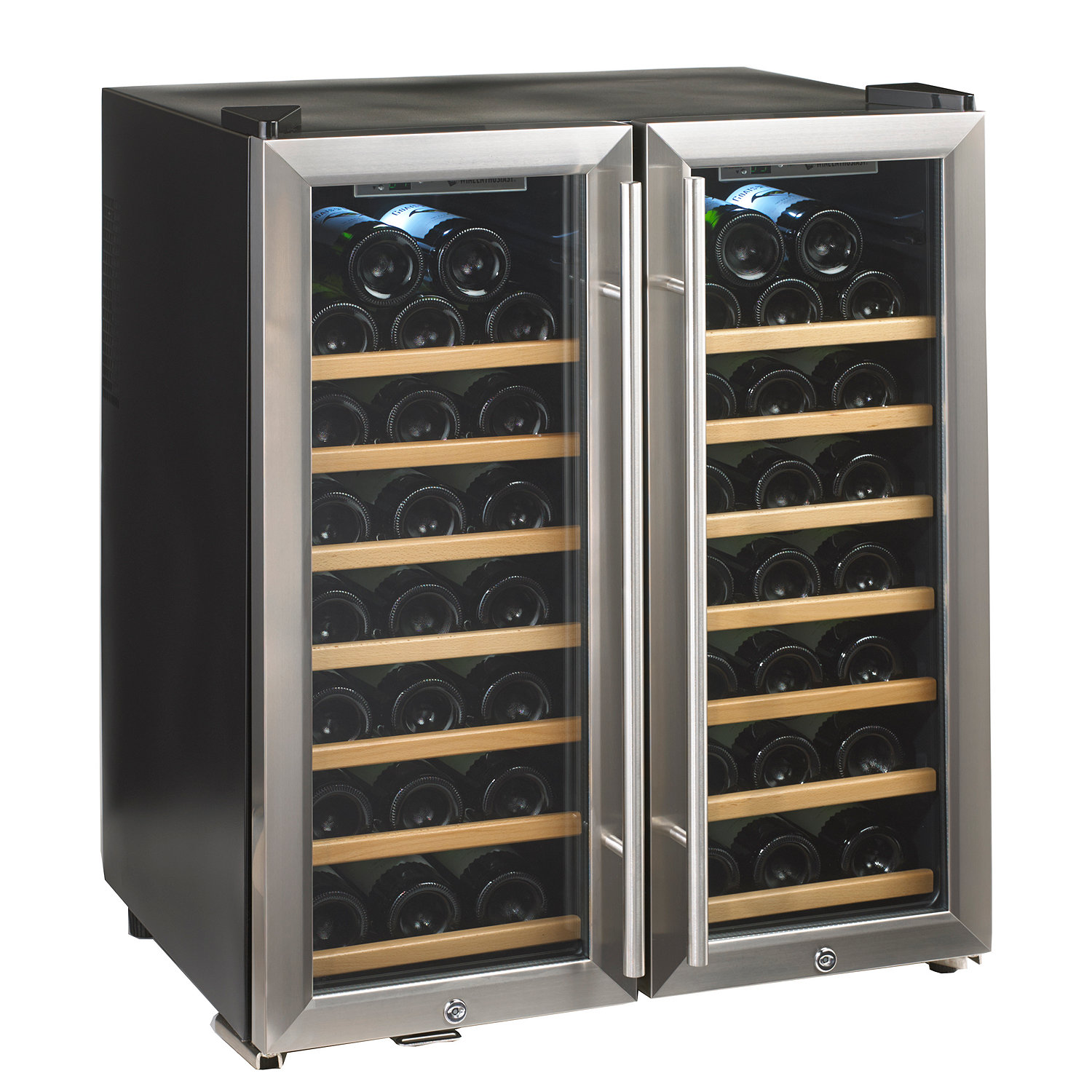 Wine Cooler Wiring Diagram Enthusiast Silent 48 Bottle Double Door Dual Zone Preparing Zoom