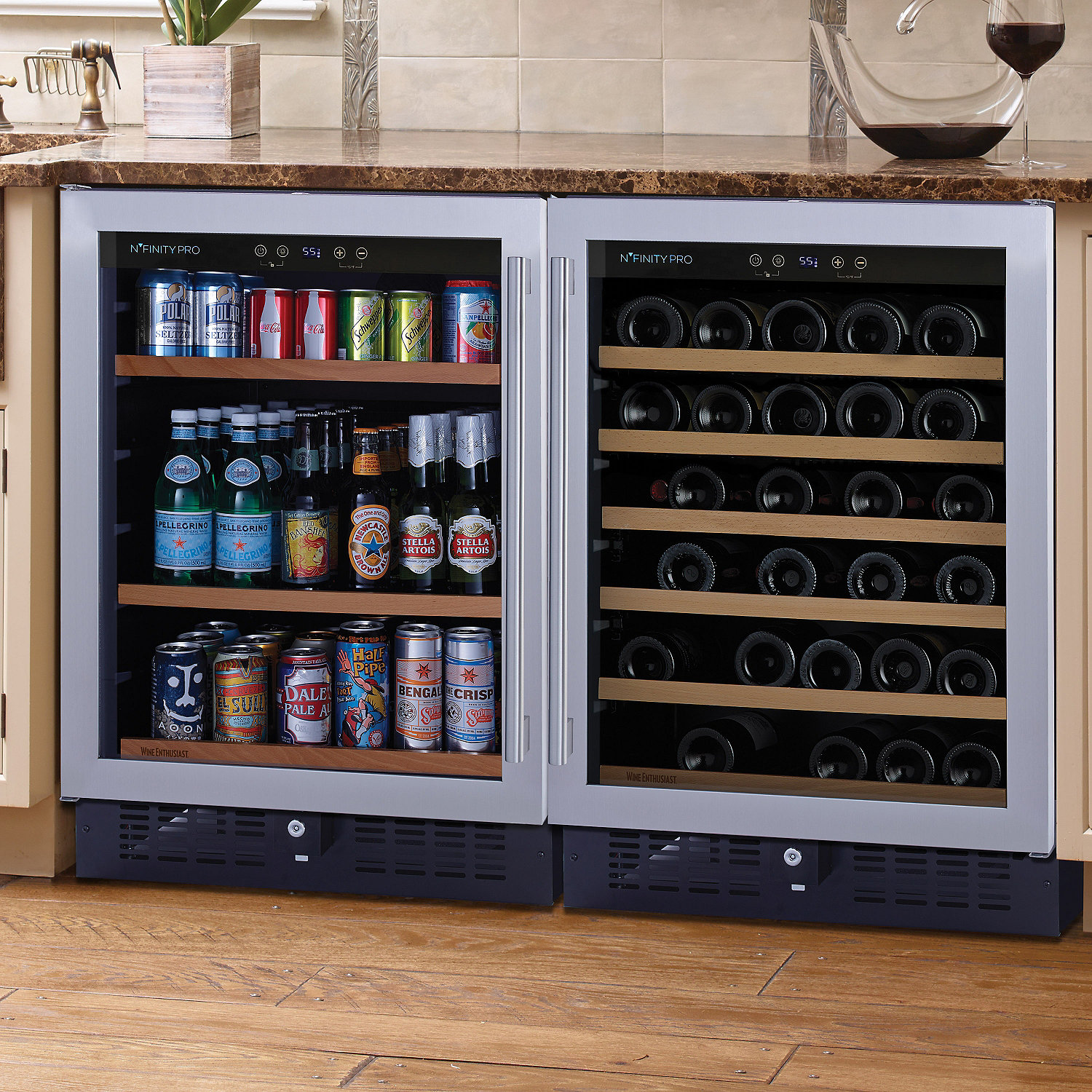 Under Cabinet Wine Beverage Cooler Cabinets Matttroy