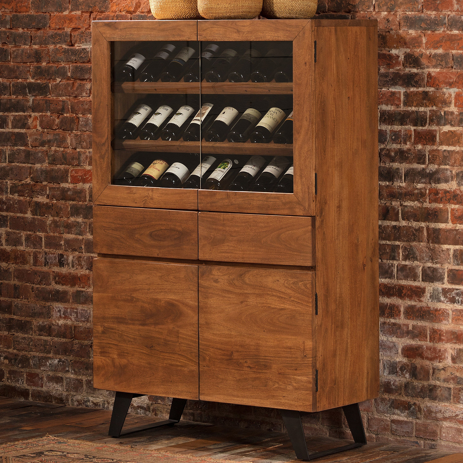 Wine Storage Cabinet Preparing Zoom