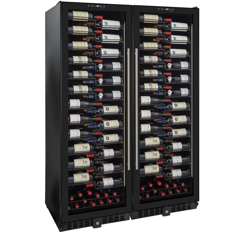 Wine Enthusiast Vinoview 310 Bottle Double Wine Cellar Wine Enthusiast