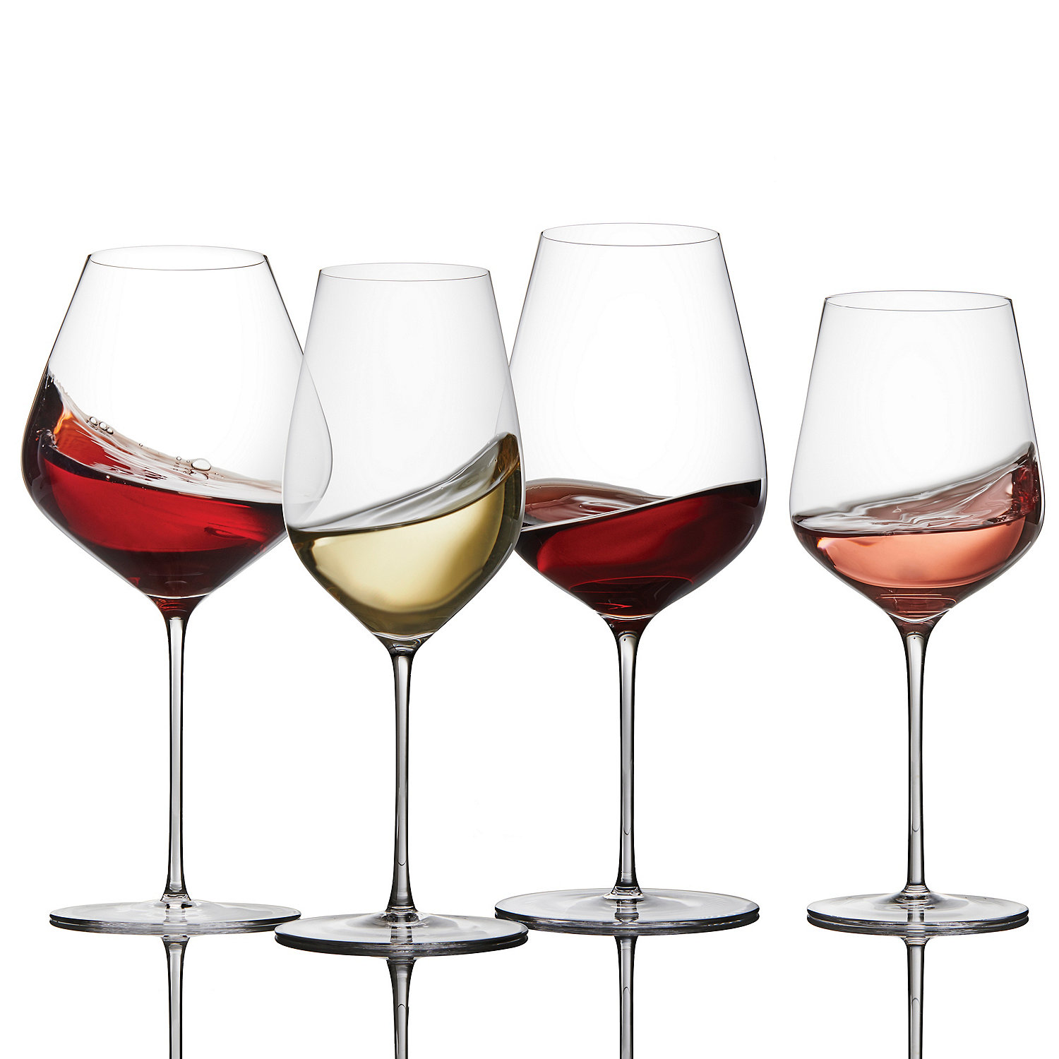 be2a71e0b Fusion Air Wine Glass Complete Collection (Set of 16) - Wine Enthusiast