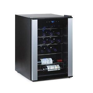 Wine Enthusiast Silent 18 Bottle Dual Zone Wine