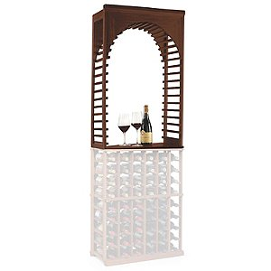 N'FINITY Wine Rack Kit - Arch Display (Dark