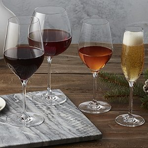 Complete Fusion Classic Wine Glass Collection (Set of