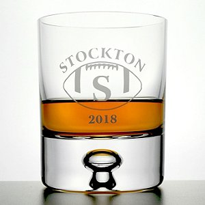 Personalized 'Big Game' Lexington Whiskey Glasses (Set of