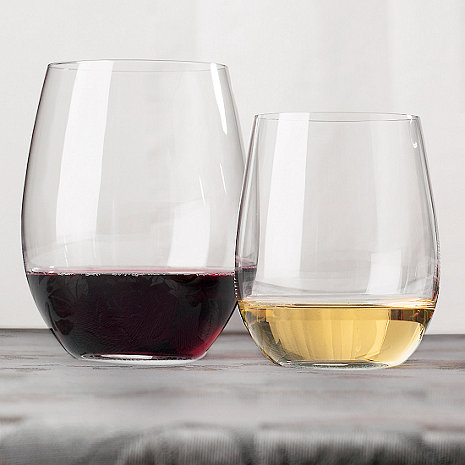 Riedel 'O' Stemless Wine Glass Cabernet & Chardonnay/Viognier Mixed Set (Set of 8)