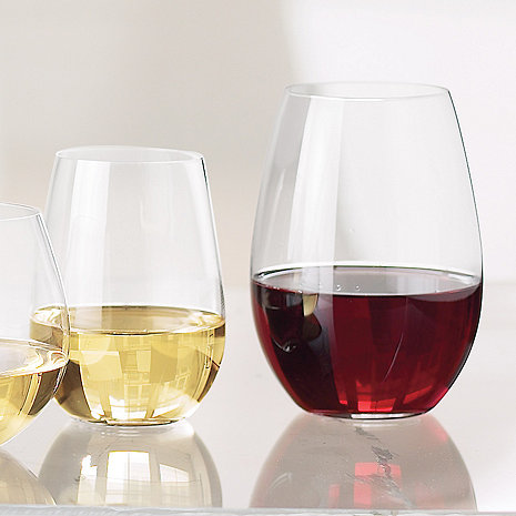 Riedel 'O' Syrah/Shiraz & Riesling Stemless Wine Glass Mixed Set (Set of 8)