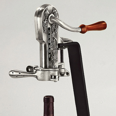 Legacy Corkscrew Antique Pewter Wine Enthusiast