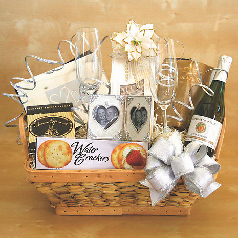Wedding Bells Gift Basket