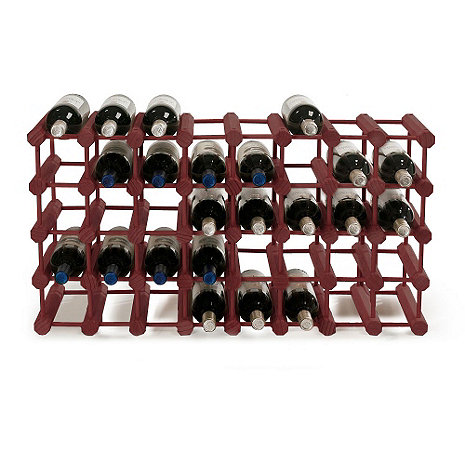 Modular 40 Bottle Wine Rack (Mahogany)