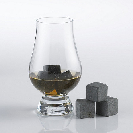 Glencairn Whisky Glasses and Arctic Rocks Set