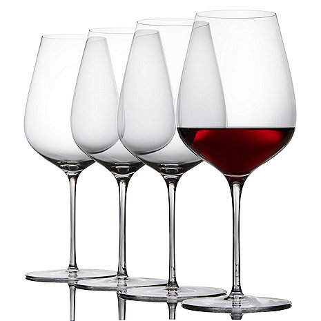 Fusion Air Bordeaux Wine Glasses (Set of 4)
