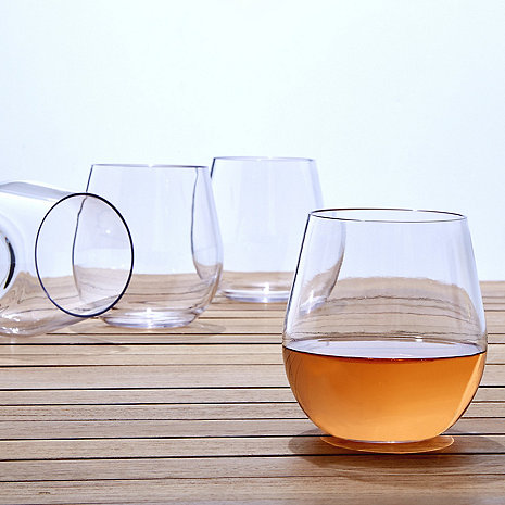Indoor/Outdoor Wine Tumblers (Set of 8)