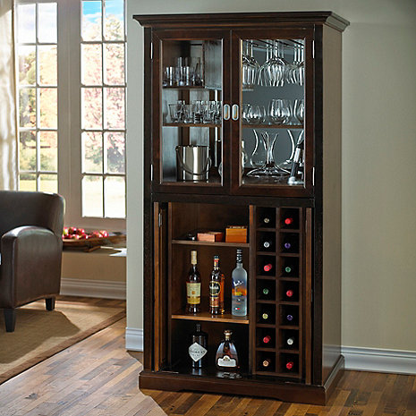 Firenze Wine and Spirits Armoire Bar - Wine Enthusiast