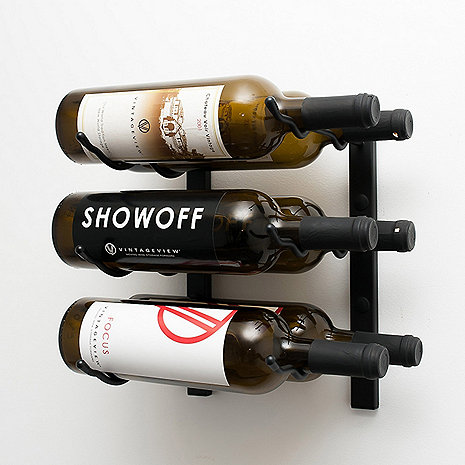VintageView Wall Series 1 Foot Wine Rack (6 Bottle)