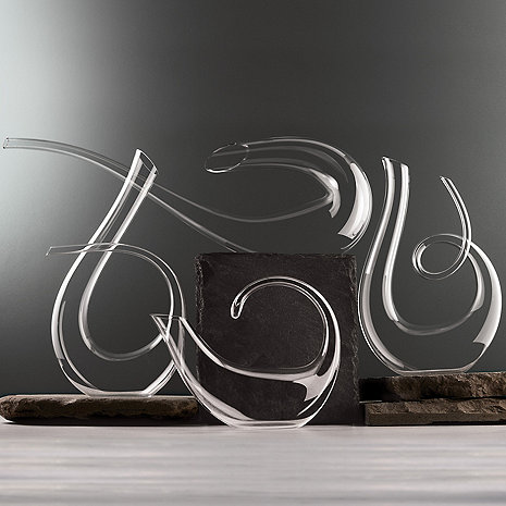 Wine Enthusiast Art Series Decanter Collection