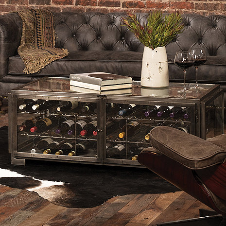 Hermitage Wine Storage Coffee Table