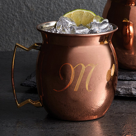 Personalized Copper Moscow Mule Mug 16 oz (Set of 2)
