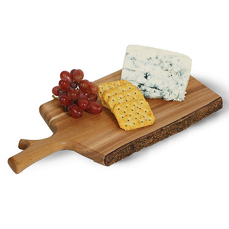 Live Edge Paddle Cheese Board