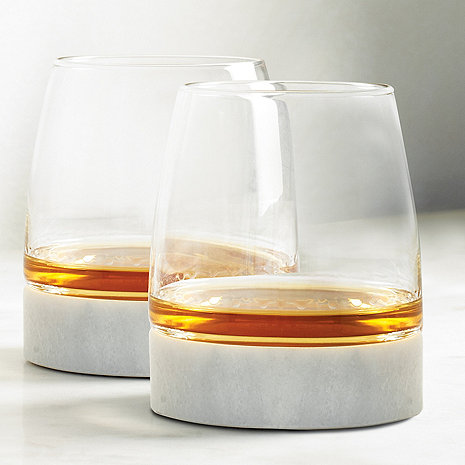 Stone Cold Tumblers And Marble Coasters (Set of 2)