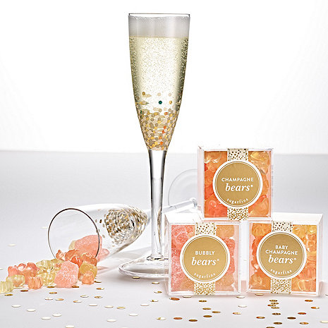 Sugarfina 'Pop The Champagne' Candy and 2 Glass Flutes Gift Set